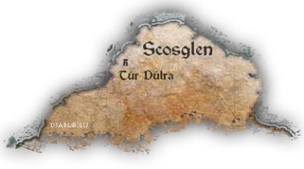 Карта Скосглена в Д4