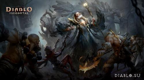 Об игре Diablo Immportal