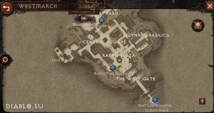 Карта Вестмарша
