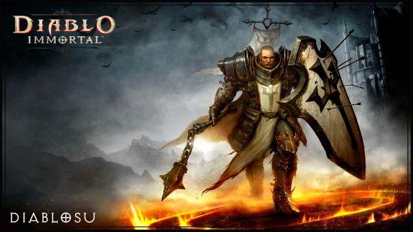 Крестоносец в Diablo Immortal (мужчина)