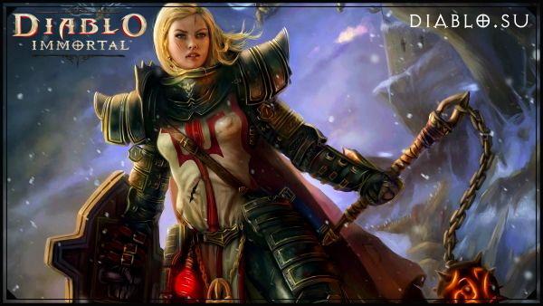 Крестоносец в Diablo Immortal (девушка)