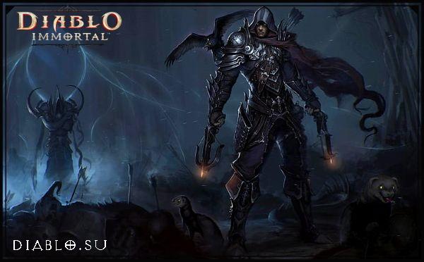 Охотник на Демонов в Diablo Immortal (мужчина)