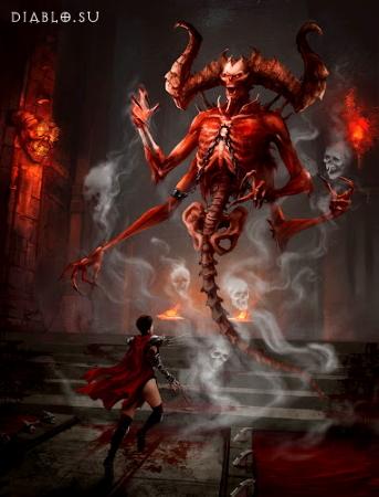 Мефисто (Mephisto) во вселенной Диабло
