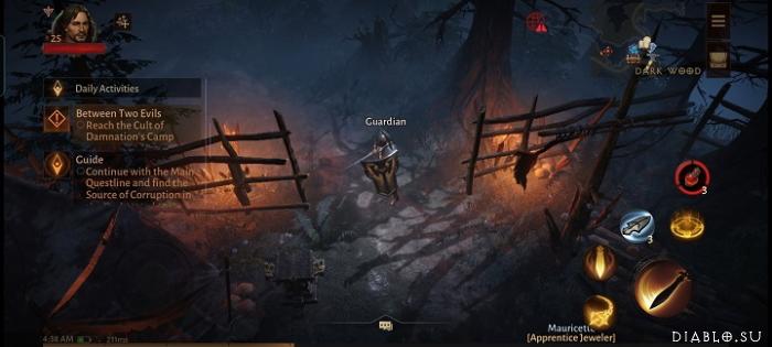 Окно игрового процесса