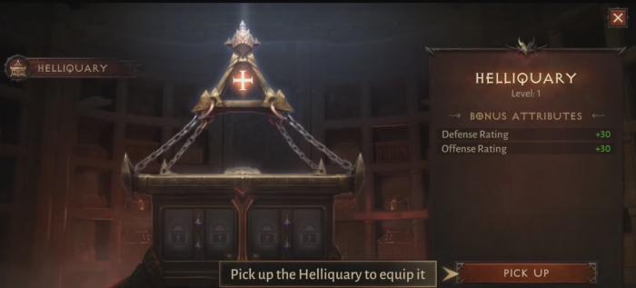 Hellquary и его баффы