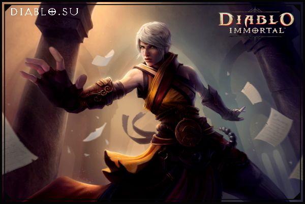Монах в Diablo Immortal (девушка)