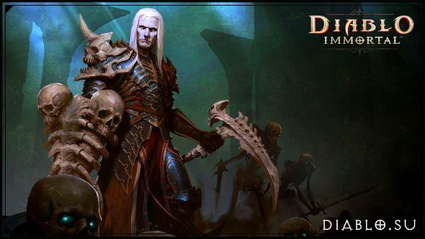 Некромант в Diablo Immortal (мужчина)