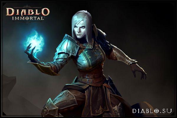 Некромант в Diablo Immortal (девушка)