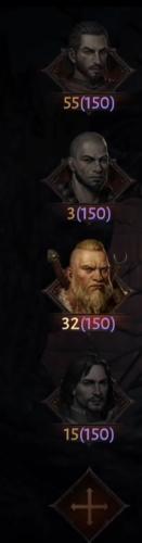 Все персонажи на аккаунте имеют один Парагон