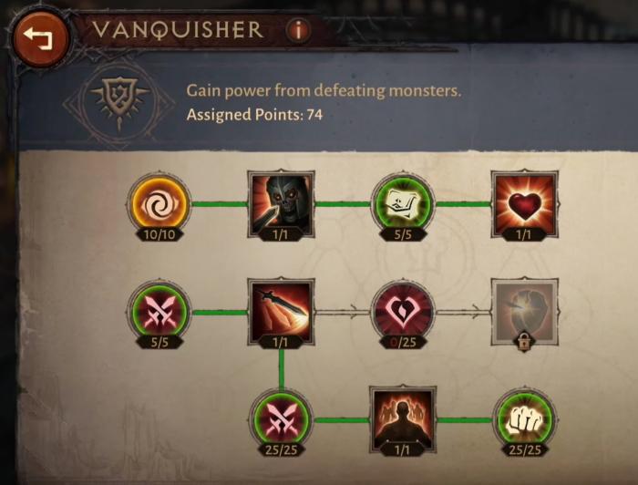 Ветка Истребитель (Vanquisher)