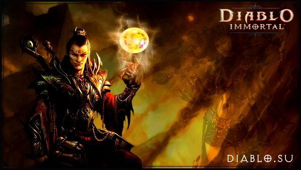 Маг в Diablo Immortal (мужчина)