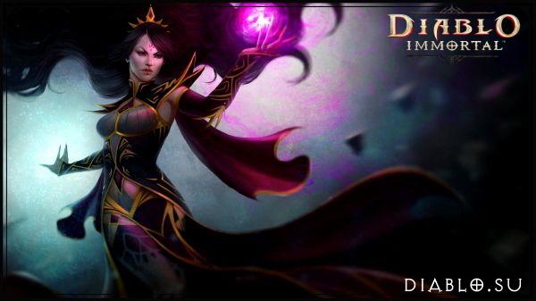 Маг в Diablo Immortal (девушка)