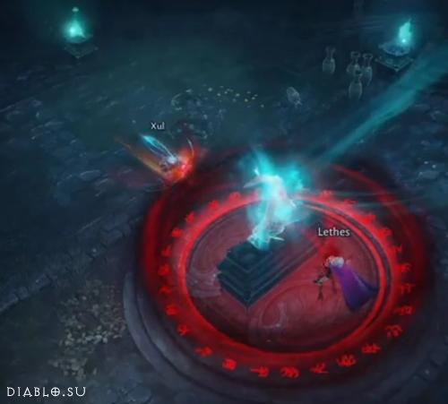 Зул против барьеров Летес - из сюжета игры