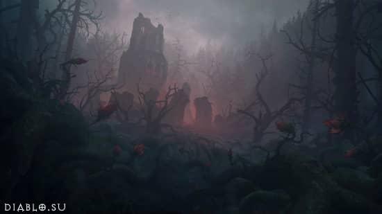 Локация Темный Лес (Dark Wood)