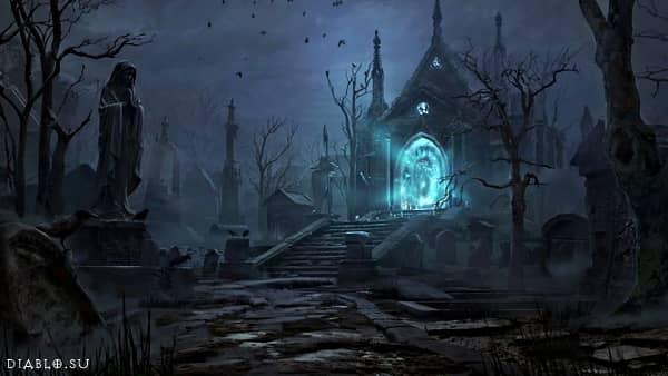 Локация Кладбище Эшвольд в Diablo Immortal